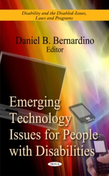 Emerging Technology Issues for People with Disabilities, Hardback Book