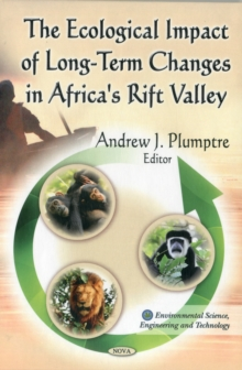 Ecological Impact of Long-Term Changes in Africa's Rift Valley, Hardback Book