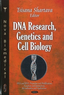 DNA Research, Genetics & Cell Biology, Hardback Book