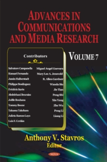 Advances in Communications & Media Research : Volume 7, Hardback Book