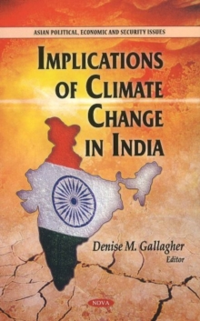 Implications of Climate Change in India, Hardback Book