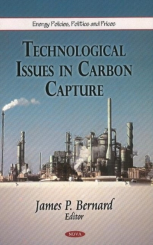 Technological Issues in Carbon Capture, Hardback Book