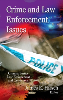 Crime & Law Enforcement Issues, Hardback Book