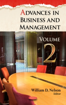 Advances in Business & Management : Volume 2, Hardback Book