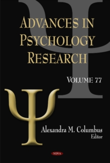 Advances in Psychology Research : Volume 77, Hardback Book