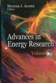 Advances in Energy Research : Volume 7, Hardback Book