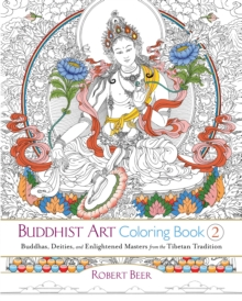 Buddhist Art Coloring Book 2, Paperback Book