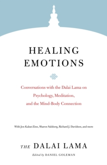 Healing Emotions : Conversations with the Dalai Lama on Psychology, Meditation, and the Mind-Body Connection, Paperback / softback Book