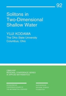 Solitons in Two-Dimensional Shallow Water, Paperback / softback Book