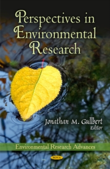 Perspectives in Environmental Research, Hardback Book