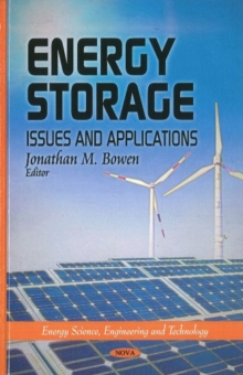Energy Storage : Issues & Applications, Hardback Book