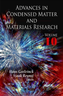 Advances in Condensed Matter & Materials Research : Volume 10, Hardback Book
