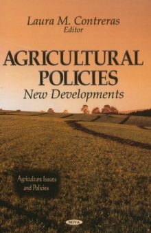 Agricultural Policies : New Developments, Hardback Book