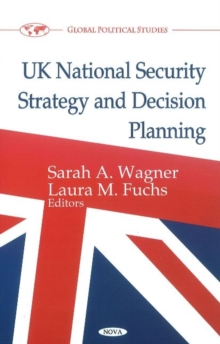 UK National Security Strategy & Decision Planning, Hardback Book