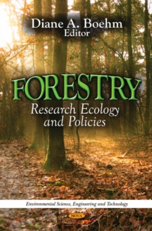 Forestry : Research, Ecology & Policies, Hardback Book