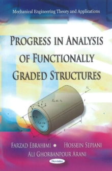 Progress in Analysis of Functionally Graded Structures, Paperback / softback Book