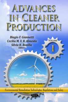 Advances in Cleaner Production : Volume 1, Hardback Book