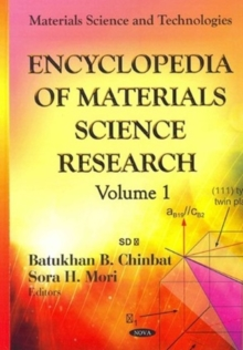 Encyclopedia of Materials Science Research -- 2 Volume Set, Hardback Book