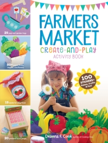 Farmers Market Create-an-Play Activity Book, Paperback Book