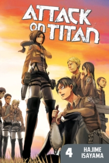 Attack on Titan 4, Paperback Book