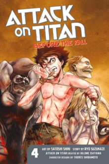 Attack On Titan: Before The Fall 4, Paperback Book