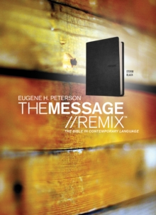 The Message//REMIX, Leather / fine binding Book