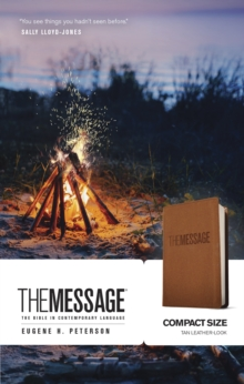 The Message Compact, Leather / fine binding Book