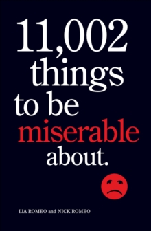 11,002 Things to Be Miserable About, EPUB eBook