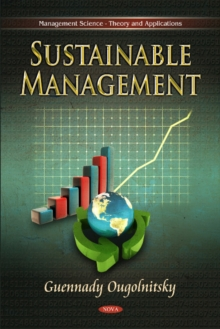 Sustainable Management, Hardback Book