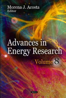 Advances in Energy Research : Volume 8, Hardback Book