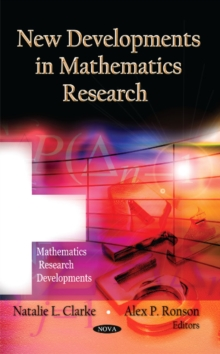 New Developments in Mathematics Research, Hardback Book