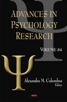 Advances in Psychology Research : Volume 84, Hardback Book
