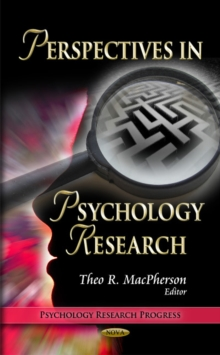 Perspectives in Psychology Research, Hardback Book