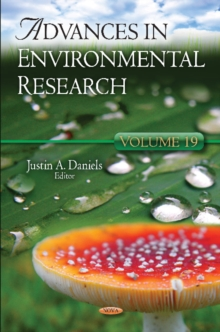 Advances in Environmental Research : Volume 19, Hardback Book
