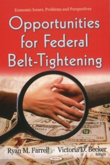 Opportunities for Federal Belt-Tightening, Hardback Book