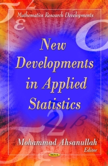 New Developments in Applied Statistics, Hardback Book