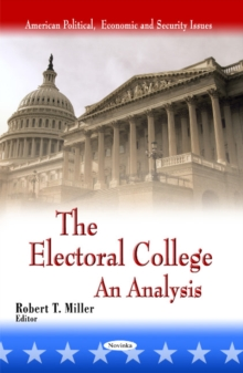 Electoral College : An Analysis, Paperback Book