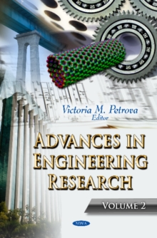 Advances in Engineering Research : Volume 2, Hardback Book