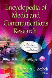 Encyclopedia of Media & Communications Research : 2 Volume Set, Hardback Book
