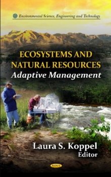 Ecosystems & Natural Resources : An Adaptive Management, Hardback Book