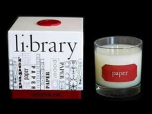 Paper Library Candle, Miscellaneous print Book