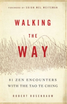 Walking the Way : 81 ZEN Encounters with the Tao Te Ching, Paperback Book