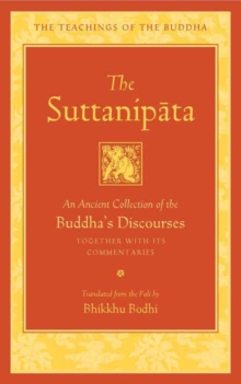 The Suttanipata : An Ancient Collection of Buddha's Discourses, Hardback Book