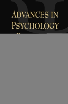 Advances in Psychology Research : Volume 87, Hardback Book