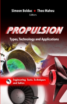 Propulsion : Types, Technology & Applications, Hardback Book
