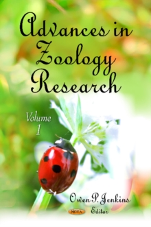 Advances in Zoology Research : Volume 1, Hardback Book