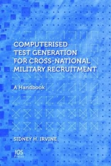 Computerised Test Generation for Cross-National Military Recruitment : A Handbook, Hardback Book