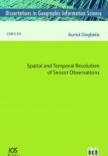 SPATIAL & TEMPORAL RESOLUTION OF SENSOR, Paperback Book
