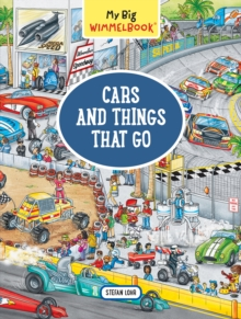 My Big Wimmelbook   Cars and Things that Go, Hardback Book