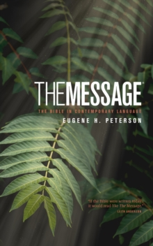 Message Bible-MS-Numbered : The Bible in Contemporary Language, Hardback Book